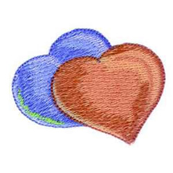 Country Hearts embroidery design