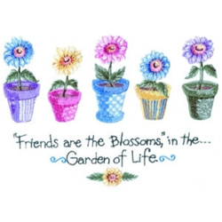 Floral Garden of Life embroidery design