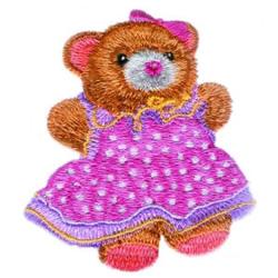 Teddy Bear & Dress embroidery design
