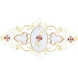 Heirloom Border embroidery design