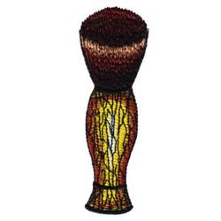 Shaving Brush embroidery design