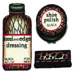 Shoe Care embroidery design
