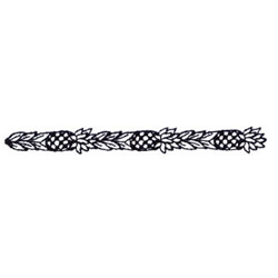 Pineapple Border embroidery design