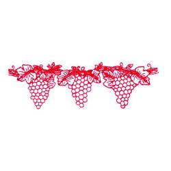 Grape Border embroidery design