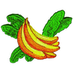 Bananas embroidery design