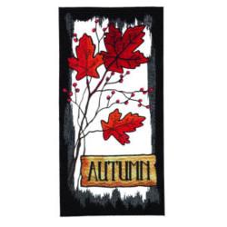 Autumn Oak Leafs embroidery design