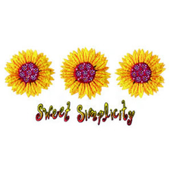 Sweet Simplicity embroidery design
