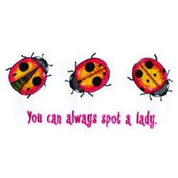 Ladies embroidery design