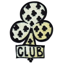 Club embroidery design