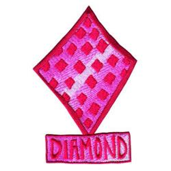 Diamond embroidery design