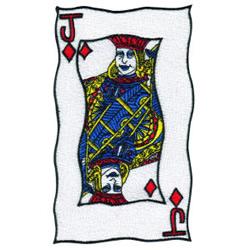 Jack of Diamonds embroidery design