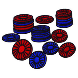 Poker Chips embroidery design