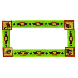 Native American Frame embroidery design