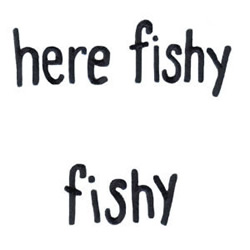 Here Fishy Fishy embroidery design