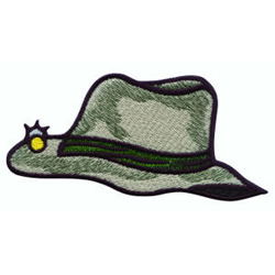 Fishermans Hat embroidery design