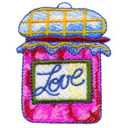 Love Jam embroidery design