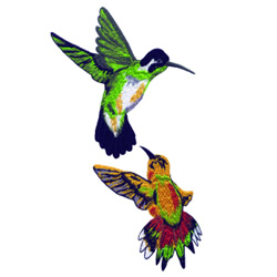 Hummingbirds Embroidery Designs Machine Embroidery