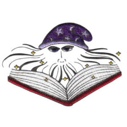 Wizard Spell embroidery design