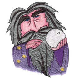 Magic Wizard embroidery design
