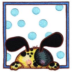 Dalmatian Puppy embroidery design
