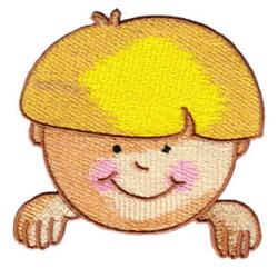 Boy embroidery design