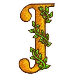 Loris Alphabet J embroidery design