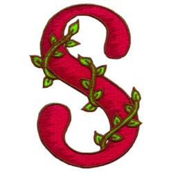 Loris Alphabet S embroidery design
