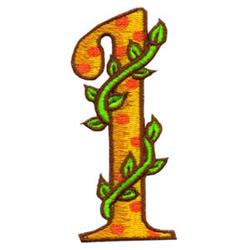Loris Alphabet 1 embroidery design