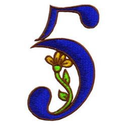 Loris Alphabet 5 embroidery design