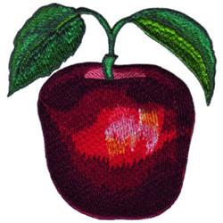 Apple embroidery design
