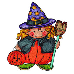 Pumpkin Patch Kid 1 embroidery design