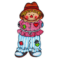 Pumpkin Patch Kid 12 embroidery design