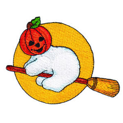 Pumpkin Patch Kid 15 embroidery design