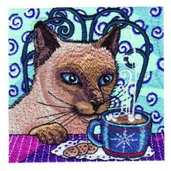 Bedtime Snack embroidery design