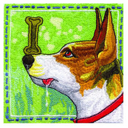 Dog Tricks embroidery design
