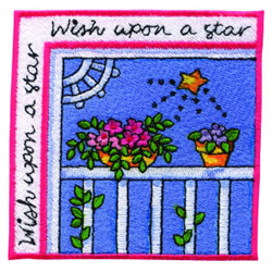 Wish Upon A Star embroidery design