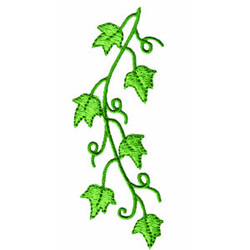 Grapevine embroidery design