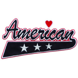 American embroidery design