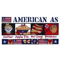 American embroidery design