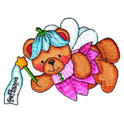 Fairy Bear embroidery design