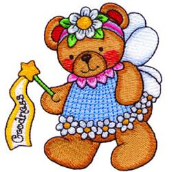 Fairy Bear Goodness embroidery design