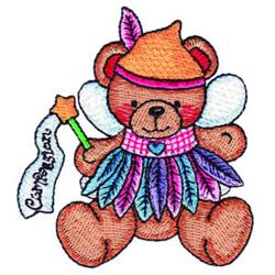 Fairy Bear Compassion embroidery design