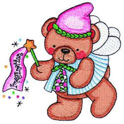 Fairy Bear Imagination embroidery design