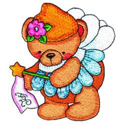 Fairy Bear Joy embroidery design