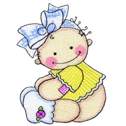 Baby Girl Embroidery Designs Machine Embroidery Designs
