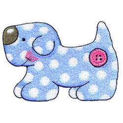 Toy Dog embroidery design