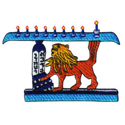 Lion of Judah embroidery design
