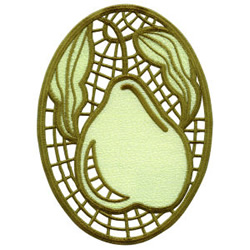 Cutwork Lace Medallion 15 embroidery design