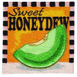 Honeydew Square embroidery design