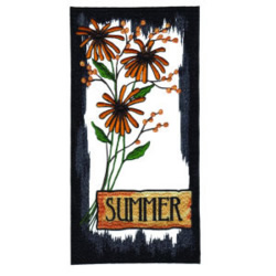 Summer Flowers embroidery design